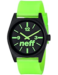 Neff Daily Mens Designer Watch - Green Glow / One Size Fits All