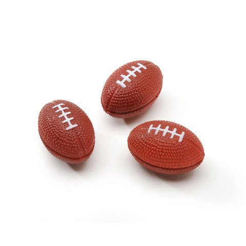 Package of 24 Mini Foam Footballs for Parties, Decorating, and Crafting