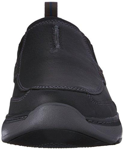 Step Charton Loafer On Slip Men's Leather CLARKS Black pnXx4AqE5