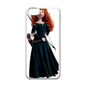 Brave iPhone 5c Cell Phone Case-White Phone cover Q3276939
