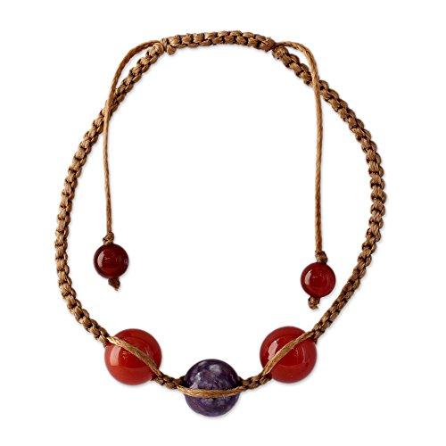 Novica Chalcedony Bracelets - 2