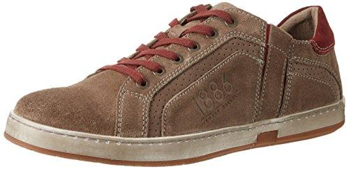 Josef Seibel Gatteo 33, Zapatos de Cordones Derby para Hombre Braun (taupe-kombi)