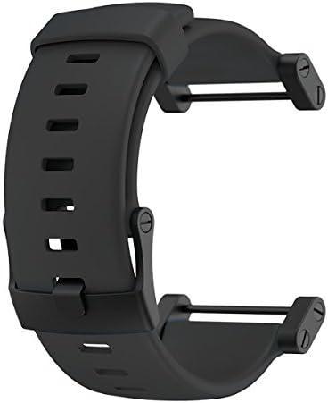 スント Suunto Core Accessory Strap Black One Size Rubber Band Black Buckle Adapter [並行輸入品]
