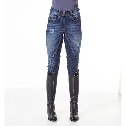 Just Togs Junior Sienna Jodhpurs 26 inch Navy Denim