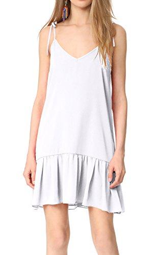forever unique white dress - 4