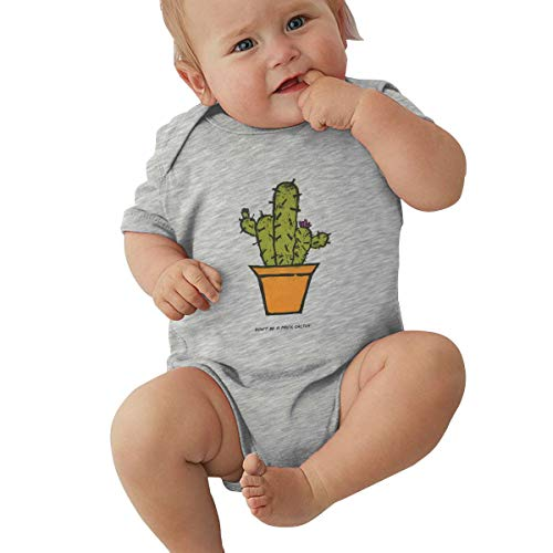 Unisex Baby Short Sleeve Bodysuits Don't Be A