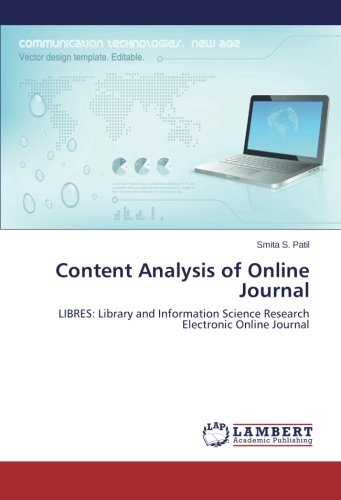 Content Analysis of Online Journal: LIBRES: Library and Information Science Research Electronic Online Journal