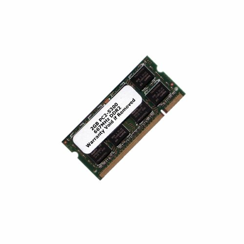 - 2GB Memory RAM Upgrade for the Dell Inspiron 1520, 1521, 1525, 1525se and 1526 (DDR2-667, PC2-5300, SODIMM)
