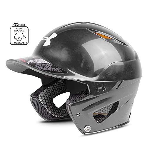 Under Armour Baseball UABH2 150: BK Converge Solid Batter's Helmet, Black, Adult (12+)