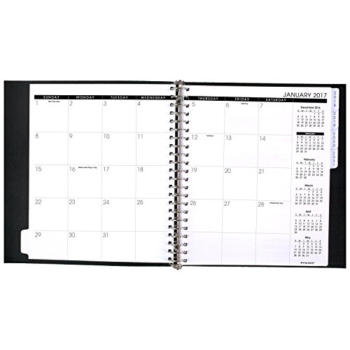 at a glance 5 year monthly planner appointment book 2017 60