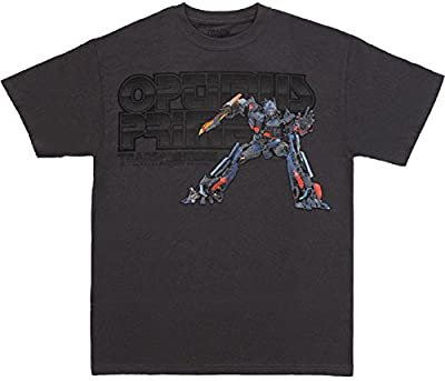 Transformers Revenge of the Fallen Optimus Prime Charcoal T-Shirt