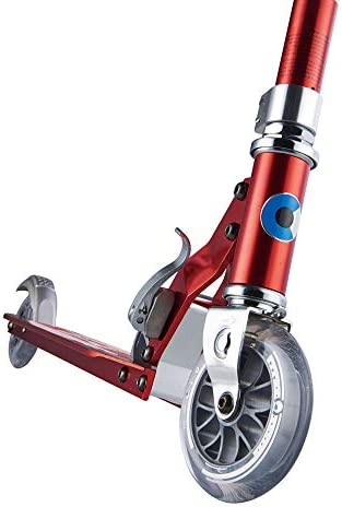 Micro Mobility SA0178 Sprite - Patinete, Color Rojo