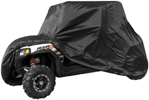 QuadBoss UTV 4-Seater Vehicle Cover - Black QBUTVC-4B