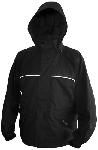 Viking Men's Torrent Waterproof Rain Jacket, Black, X-Large
