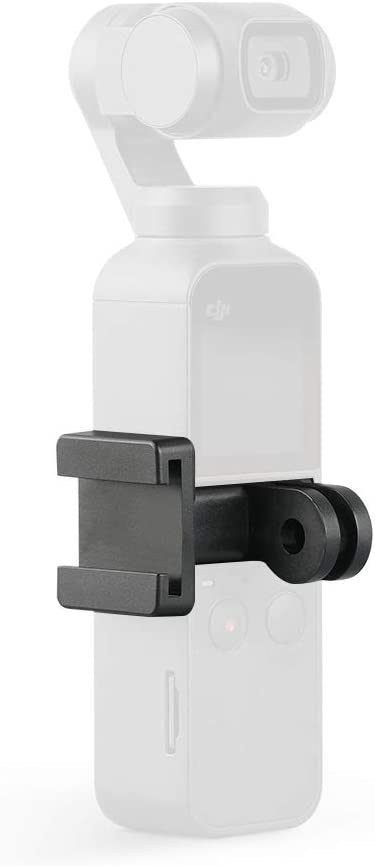 RONSHIN OSMO Pocket Data Port to Cold Shoe Universal Mount DJI OSMO Pocket Handheld Gimbal Adapter Holder Expansion Accessories PGYTECH