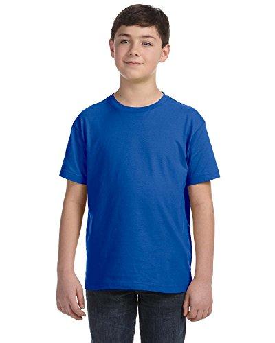LAT Youth Fine Jersey T-Shirt, Royal, -