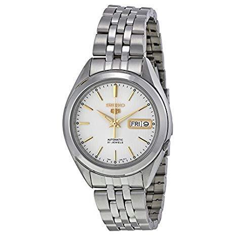 Seiko 5 Vintage Reloj Automático 21 Jewels DayDate Unisex SNKL17 K Automatic: Amazon.es: Relojes