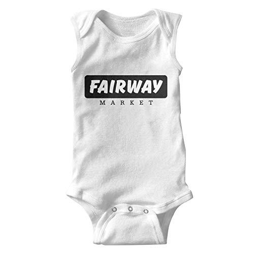 UONDLWHER Sleeveless Unisex Baby Girl Lovely Onesies Bodysuits Clothing for 0-24 Months