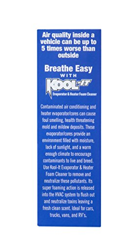 41wgqyS1zcL 12X Lubegard 96030 Kool It Evaporator and Heater Foam Cleaner  FRESH CLEAN AIR !