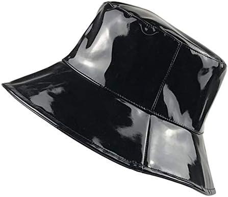 Women's Rain Hats Waterproof Rain Hat Wide Brim Bucket Hat Rain Cap  Foldable and Portable, Easy to Carry (Black) at Amazon Women's Clothing  store