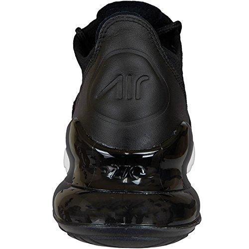 Nike Kvinders Wmns Air Max 270 Flyknit, Sort / Hvid-hvid Sort / Hvid-hvid