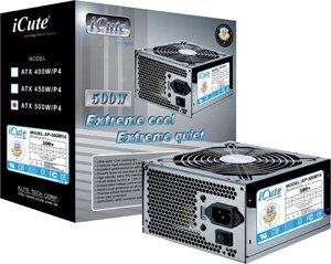 iCute Titanium ATX Power Supply 450w: Amazon.co.uk: Computers ...