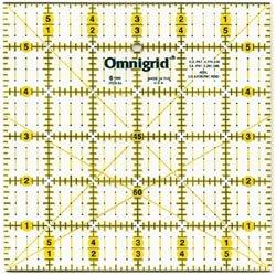 Bulk Buy: Dritz Omnigrid Quilters Ruler 6'X6' R6A (2-Pack) Prym Consumer USA Inc.