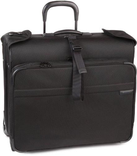 Briggs & Riley Baseline Deluxe Wheeled Garment Bag - Black