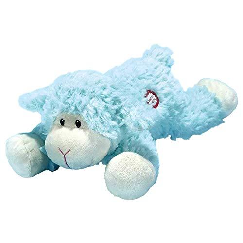 Dicksons Baby Boy Blue Lamb Soft Plush Figurine Doll Sings Tune Jesus Loves - Jesus Little Lamb Cross