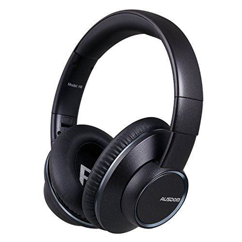 Bluetooth Headphones, AUSDOM H8 Over Ear Wireless Headphones with Mic and Shareme Function Stereo Foldable Gaming headset for...