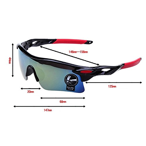 OMIU Polarized Sports Sunglasses for Men Women Superlight Frame Cycling Running Fishing Driving Baseball 202