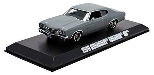 GreenLight Fast & Furious 2009 - 1970 Chevy Chevelle SS - Primer (1:43 Scale), Grey