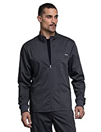 Cherokee WW Revolution WW320 Men's Zip up Solid Scrub Jacket