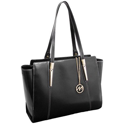 McKleinUSA ALDORA 97505 Black Leather Women's Business Tote by McKleinUSA (Image #2)