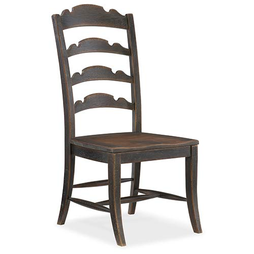 Hooker Furniture Hill Country Twin Sisters Ladderback Side Chair by Hooker Furniture