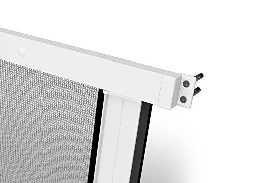 160 x 160 cm wei/ß, Rhino Screen 38334 Rollofenster 160x160 Insektenschutz Rollo Fenster