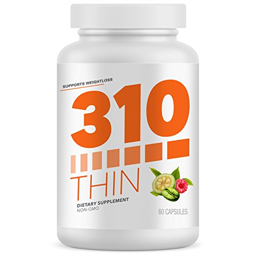 310 Thin Metabolism Booster With Garcinia Cambogia, Green Coffee and Ketones Extract - Crush Cravings and Boost Metabolism - Fight Hunger, Control Cravings, Enhance Energy