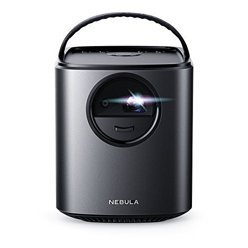 Anker Nebula Mars Lite By Theater-Grade Portable Cinema with Ultra-Bright HD Picture, Audio and Super-Long Playtime, Black (Renewed)