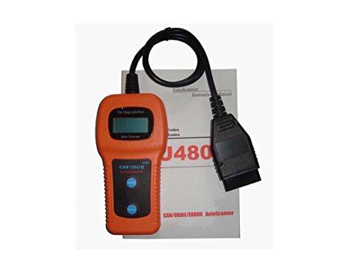 SingPad U480 CAN-BUS OBDII Car Diagnostic Scanner MaxiScan Universal