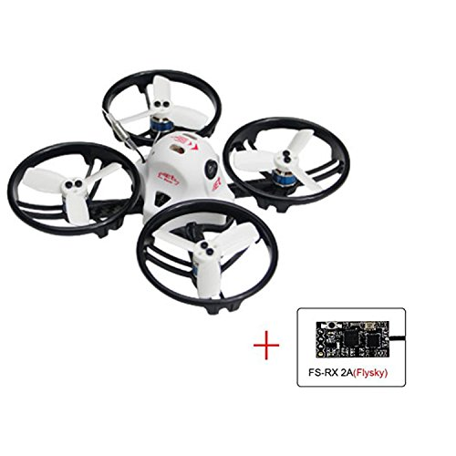 KING KON ET115 PNP Brushless FPV RC Racing Drone Mini Quadcopter (FS-RX2A Receiver Compatible with Flysky) Review