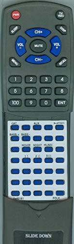 Replacement Remote Control for Polk Signa S1 (Polk Audio Remote Control)