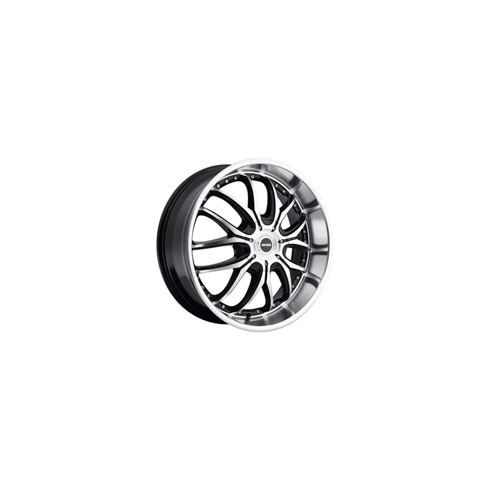 Dropstars 641 20x8.5 Machined Black Wheel / Rim 5x4.25 & 5x4.5 with a 38mm Offset and a 73.00 Hub Bore. Partnumber 641MB 2851438