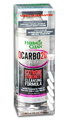 (Qcarbo Clear Cranberry 20oz Wholesale Case Pricing 9 Packs Per Case)