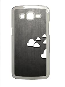 Abstract Clouds Custom Samsung Grand 7106/2 Case Cover Polycarbonate Transparent