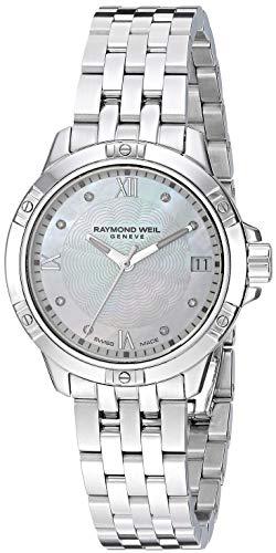 Raymond Weil Women's 5960-ST-00995 Tango Analog Display Quartz Silver Watch