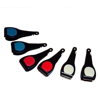 Fly Fishing Line Nail Nipper Clipper Hook Eye Cleaner Tool(Color Random)