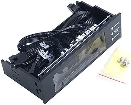 Fauge 5.25 Pulgadas 12V PC Controlador del Ventilador de la ...