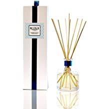 Sale! MINX Fragrances Sunkissed Cotton scented Aromatherapy Oil Reed Diffuser & Sticks Gift Set | Air Freshener | Fresh Clean Cotton, Aloe Vera, Freesia & Lily of the Valley | Great Gift Idea!