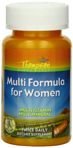 Thompson Multi Formula for Women Capsules, 60 Count (Pack of 2)