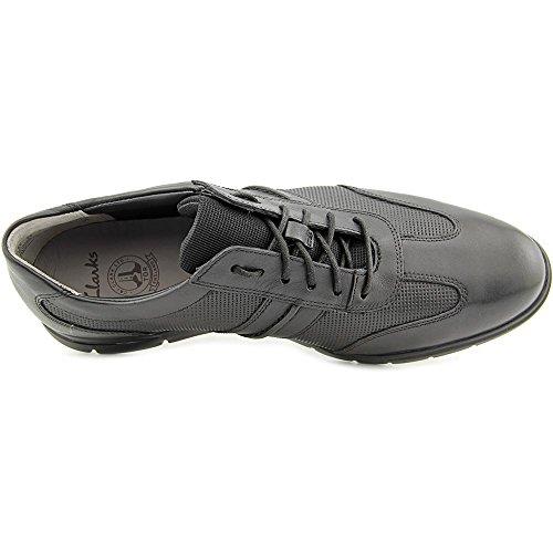 Clarks Denner Race Chaussures Pour Hommes Noir
